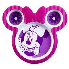 """Minnie 9"""" Shaped Plate (Set of 2)"""