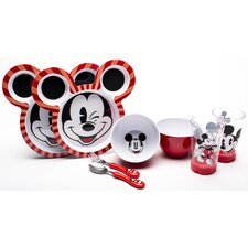 Mickey 8 Piece Dinnerware Set