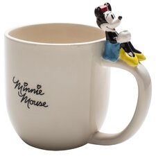 Minnie Ceramic Mug with Figurine