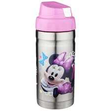 Minnie 12 oz. Dishwasher Stainless Steel Liquid Lock Canteen