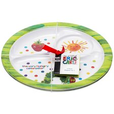 "<strong>Zak!</strong> Very Hungry Caterpillar 8.5"" Round Plate (Set of 2)"
