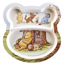 "<strong>Zak!</strong> Winnie the Pooh 8.5"" Shaped Section Plate (Set of 2)"