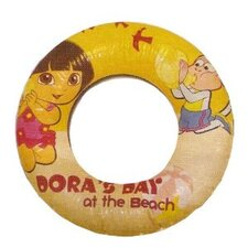<strong>Rand International</strong> Nickelodeon Dora the Explorer Inflatable Swim Ring