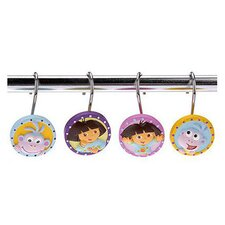 Nickelodeon Dora the Explorer Shower Curtain Hooks