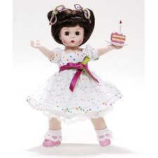 It's Your Birthday Eat Cake! Brunette Wendy Doll