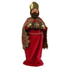 Wise Man with Myrrh Figurine