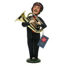 Salvation Army Man with Tuba Figurine