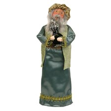 Wise Man with Frankincense Figurine