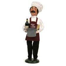 'Kiss The Cook' Chef Figurine