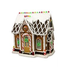 Gumdrop Gables Gingerbread House Figurine