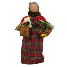 English Countryside Mrs. Claus Figurine