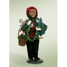 African American Decorating Boy Figurine