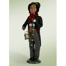 African American Man with Musical Instrument Figurine