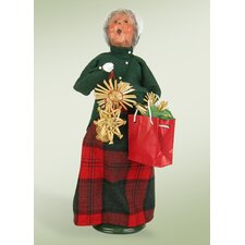Grandmother Shopper Figurine