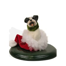 Boston Terrier Dog Figurine