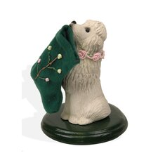 Poodle Dog Figurine