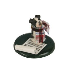 <strong>Byers' Choice</strong> Boston Terrier Dog Figurine