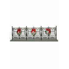 Wrought Iron Fence Christmas Decoration