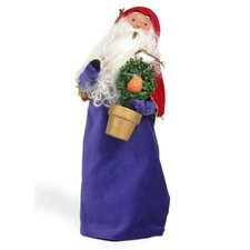 12 Days of Christmas: Partridge in Pear Tree Santa Figurine