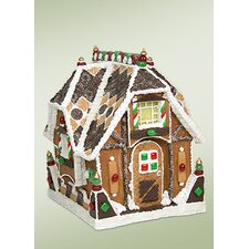 <strong>Byers' Choice</strong> Sweet Bungalow Gingerbread House