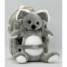 <strong>Tag Along Teddy</strong> Small Plush Koala Backpack