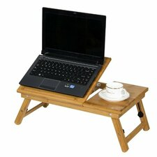 "Bamboo 11.6"" H x 23.8"" W Adjustable Notebook Lapdesk"