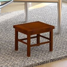 "Pine 7.87"" Step Bar Stool"