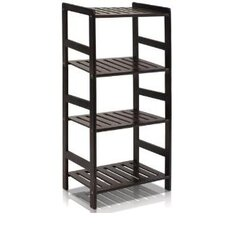<strong>Furinno</strong> Pine Multimedia 4-Tier Storage Rack