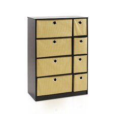 "Econ 23.8"" Storage Cabinet with Bins"