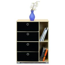 <strong>Furinno</strong> Steam Beech Living Multipurpose Storage Cabinet Bookcase Dresser