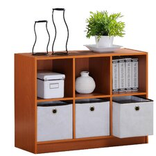 3-Tier by 3 Column, Multipurpose Storage Bookcase Bookshelves