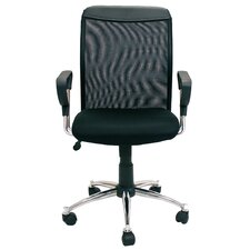Hidup Screen Back Mesh Seat Office Chair
