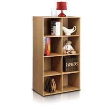 Click and Easy Kuib 8 Cube Bookcase Storage Unit