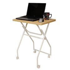 <strong>Furinno</strong> Folding Multipurpose Personal Notebook Stand TV Tray Table