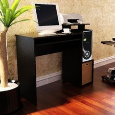 Econ Home Office Computer Writing Desk with Bin