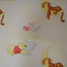 Pooh Clouds Lined Single Curtain