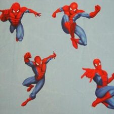Spiderman Jump Lined Single Curtain