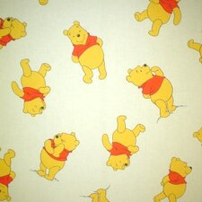 Pooh Winnie Lined Single Curtain