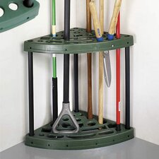 Home Yard Tool Corner Storage Rack