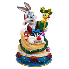 Bugs and Friends in Santa's Toy Bag Figurine