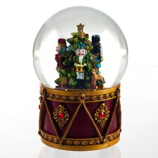 Nutcracker Drum Water Globe