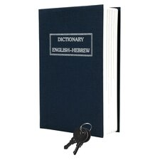 <strong>Trademark Global</strong> Dictionary Diversion Metal Key Lock Book Safe