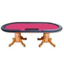 "<strong>Trademark Global</strong> Poker & Casino 90"" Deluxe Hold'em Poker Table"