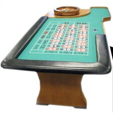 "Poker & Casino 94"" Roulette Table"