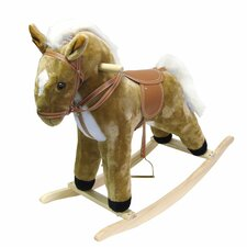 <strong>Trademark Global</strong> Happy Trails Plush Rocking Horse