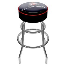 "30"" Miller Genuine Draft Bar Stool with Cushion"