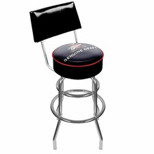 Miller Genuine Draft Swivel Bar Stool with Cushion