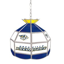 "NHL 16"" Stained Glass Tiffany Lamp"