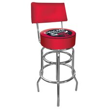 "NBA 41.75"" Swivel Bar Stool with Cushion"