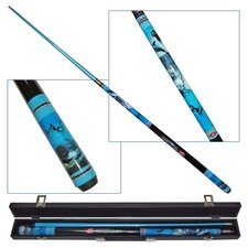 Graphite IllusionR Playful Dolphins Pool Cue